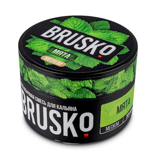 Бестабачная смесь Brusko - Мята, 50 гр.