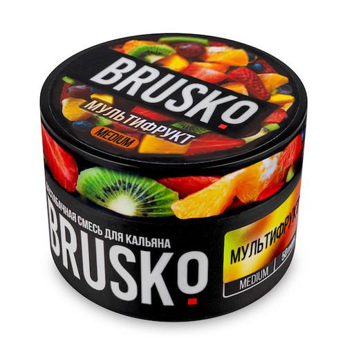 Бестабачная смесь Brusko - Мультифрукт, 50 гр.