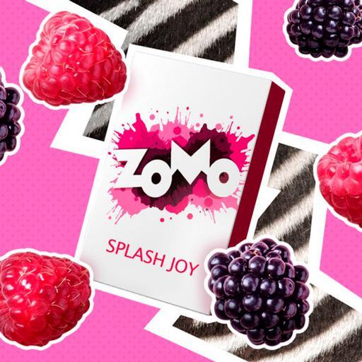 Табак Zomo -  Splash Joy (Ягодный микс), 50 гр.