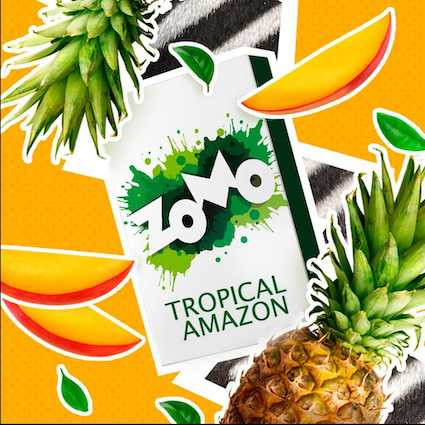 Табак Zomo - Tropical Amazon (Тропические фрукты), 50 гр.