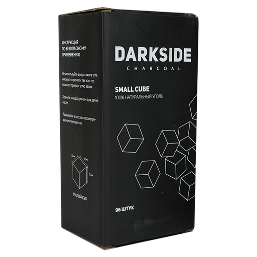 Уголь для кальяна Darkside (96 шт)