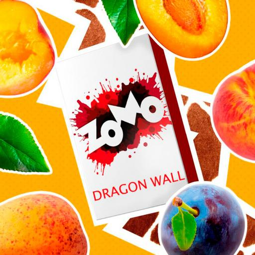 Табак Zomo - Dragon Wall (Персик, Абрикос, Слива), 50 гр.