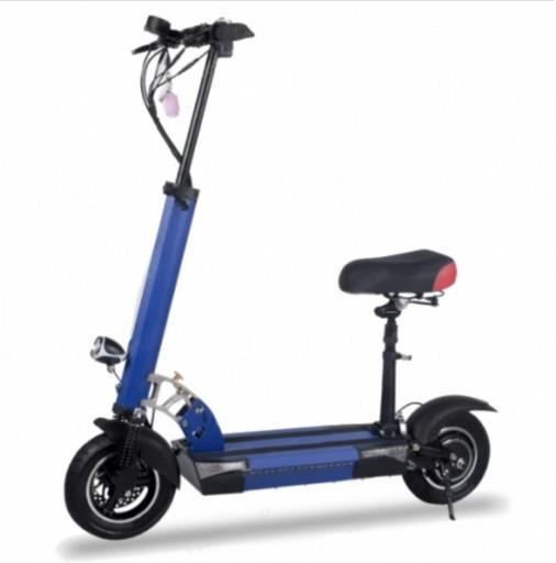 Электросамокат Electric Scooter M4 - Синий