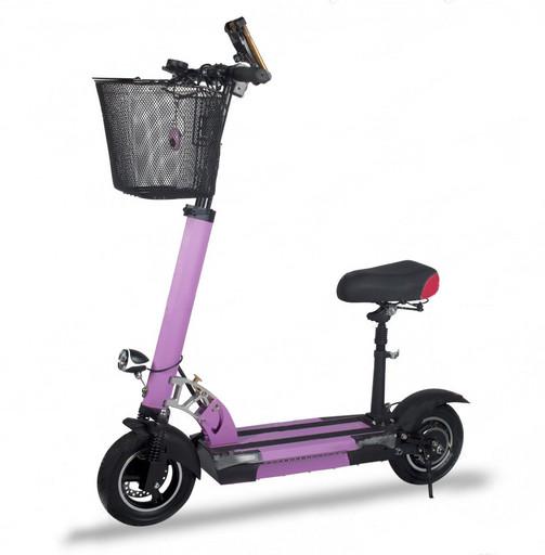 Электросамокат Electric Scooter M4 - Фиолетовый
