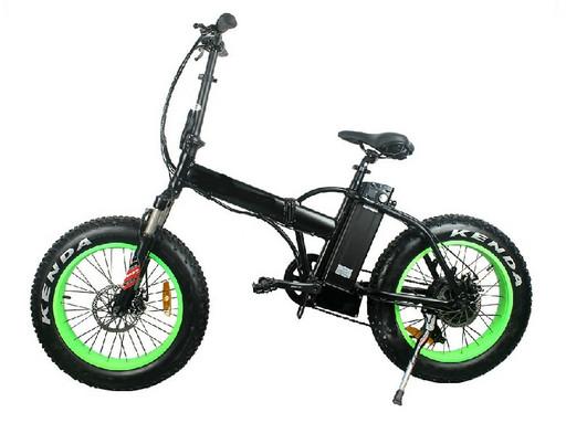 Электровелосипед Fatbike Pride 2 500W - Зеленый