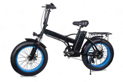 Электровелосипед Fatbike Pride 2 500W- Синий
