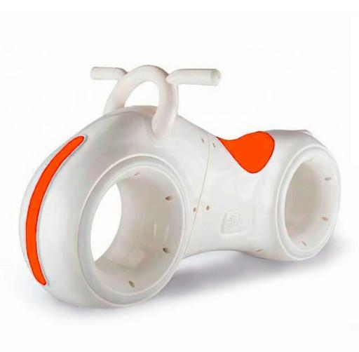 Беговел Star One Scooter - Бело-оранжевый