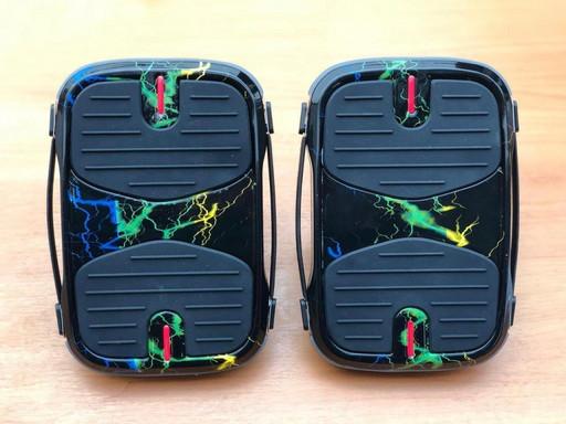 Электрические роликовые коньки Koowheel Hovershoes Цветная Молния