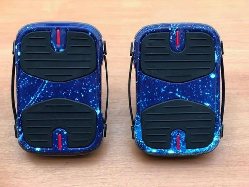 Электрические роликовые коньки Koowheel Hovershoes Синий Космос