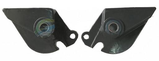 Кронштейн крепления передней подвески Kugoo S2 и S3 Серый