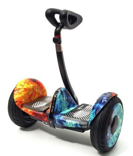 Мини-сигвей Mini Robot 54V Огонь и Лед