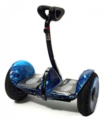Мини-сигвей Mini Robot 54V Синий Космос (Аватар)