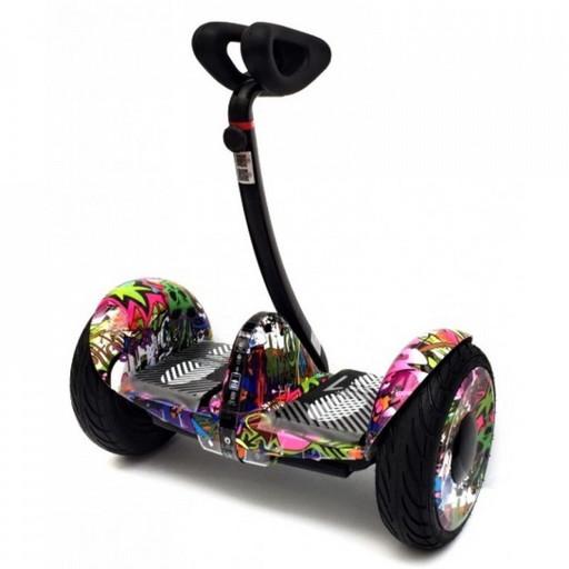 Мини-сигвей Mini Robot 36V Граффити Сиреневый