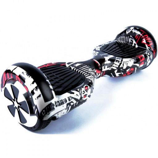 Гироскутер Smart Balance Wheel 6.5 Пират Музыка + Самобаланс