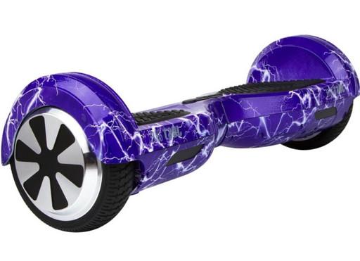 Гироскутер Smart Balance Wheel 6.5 Фиолетовая Молния Музыка + Самобаланс