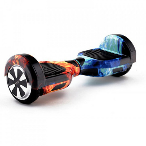 Гироскутер Smart Balance 6.5 Огонь и Лед Музыка + Самобаланс