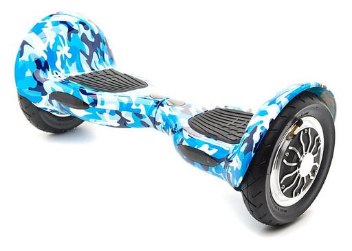 Гироскутер Smart Balance SUV 10 Синий Хаки Музыка + Самобалансировка