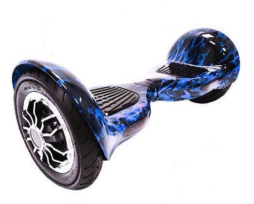 Гироскутер Smart Balance SUV 10 Синее пламя Музыка + Самобалансировка