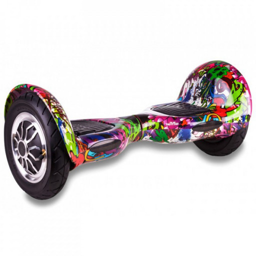 Гироскутер Smart Balance SUV 10 Граффити Сиреневый Музыка + Самобаланс
