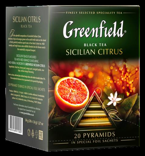 Черный чай Greenfield Sicilian Citrus