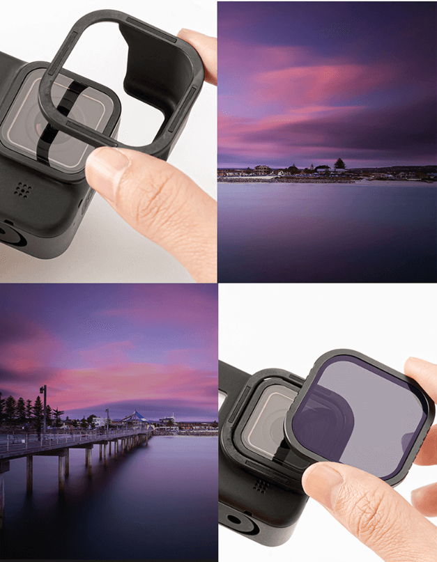 Крепление на GoPro 8 при помощи магнитного кольца