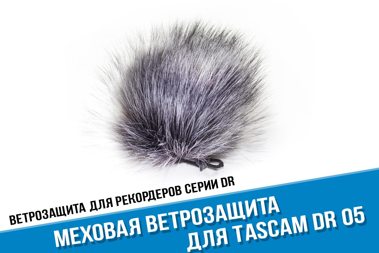 Купить ветрозащиту для рекордера Tascam DR05