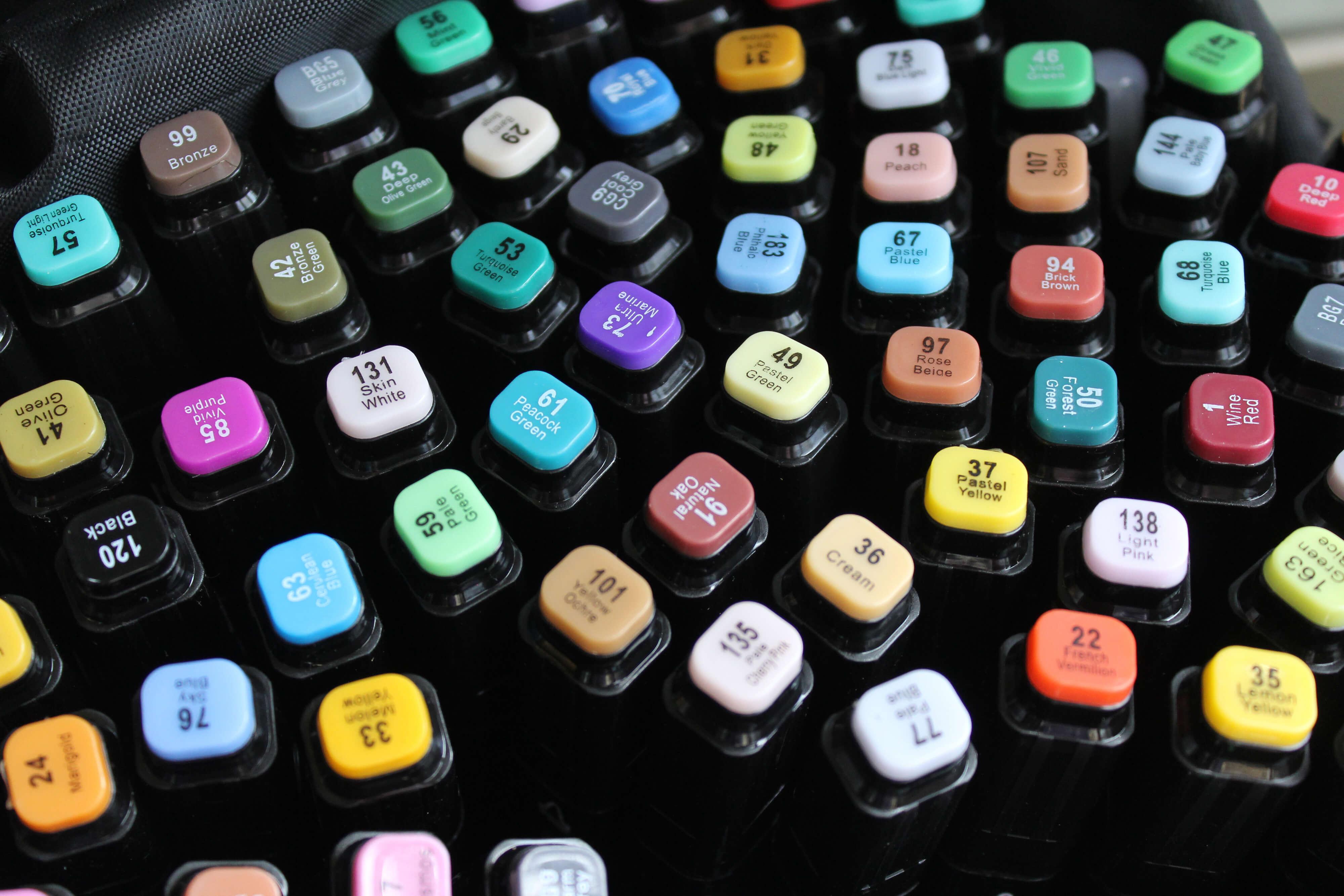 Маркеры touch new купить 80 цветов