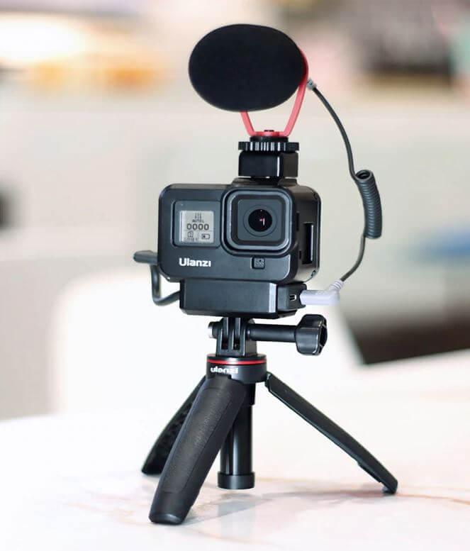 Рамка под адаптер микрофона GoPro Hero 8 Black