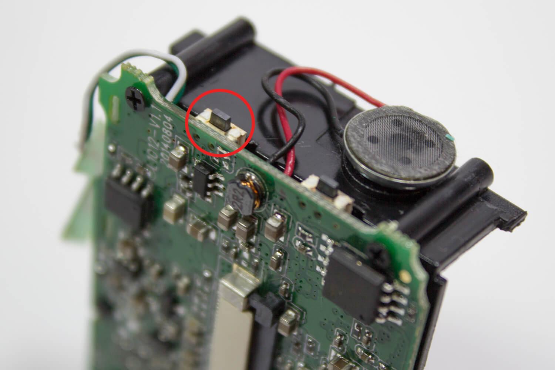 Объектив экшн-камеры SJ4000