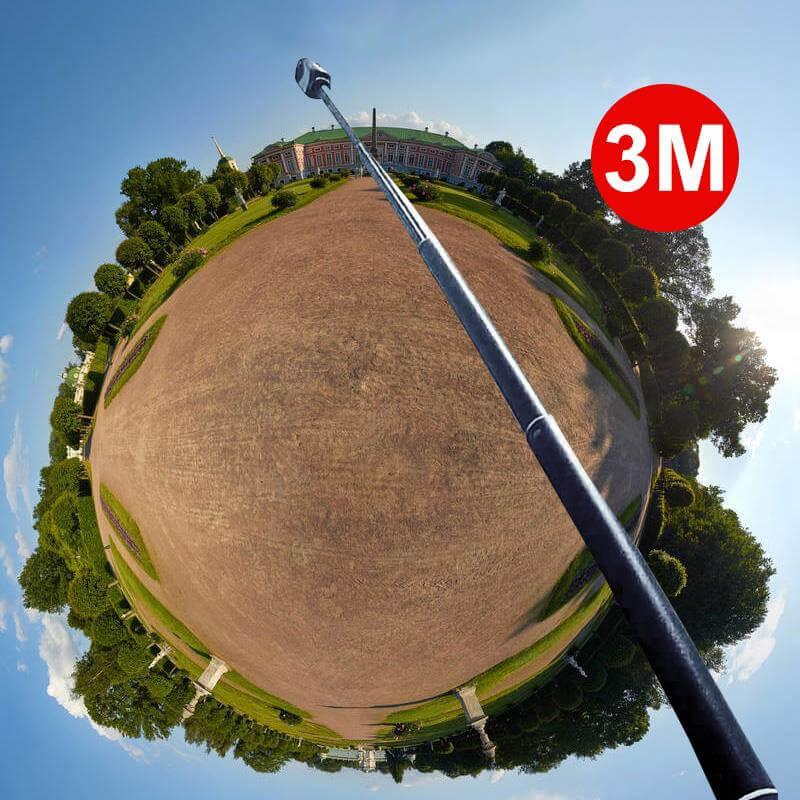 Самый длинный монопод для экшн-камер