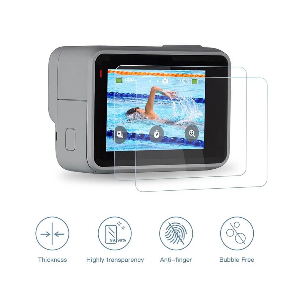Защитные стекла для камеры GoPro 7 Silver