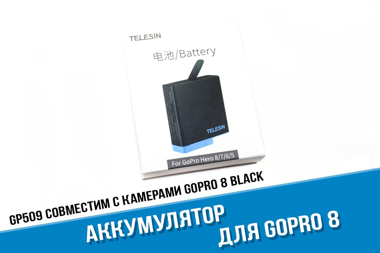 Упаковка для аккумулятора GoPro 8