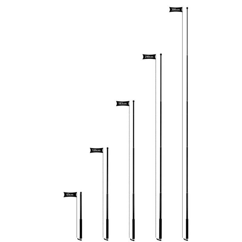 Самый длинный монопод 3 метра для камер GoPro