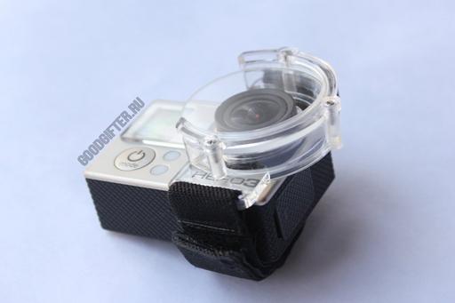Защитная линза GoPro на ремешке на голую камеру