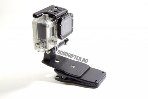 Поворотный зажим для камеры GoPro. Модель B