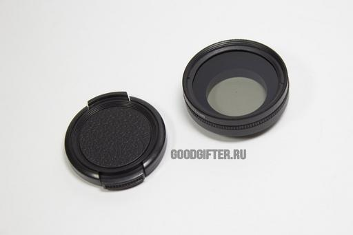 Поляризационный 37мм фильтр для камеры GoPro