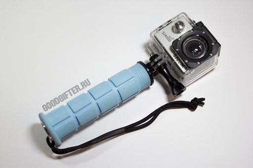 Прорезиненная ручка для камеры SJ4000