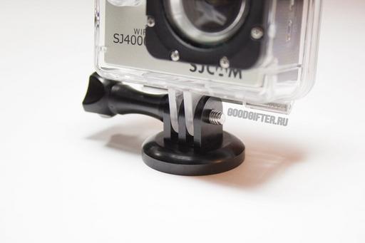 Алюминиевый переходник SJ4000 для монопода