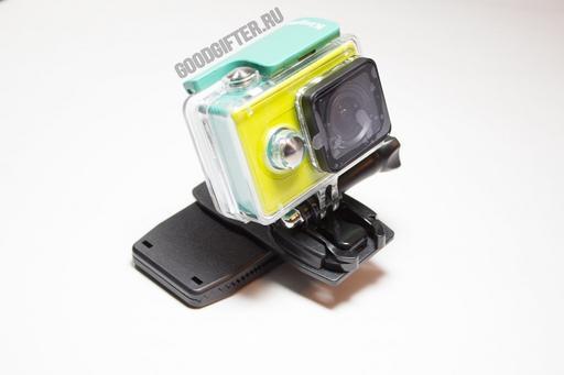 Поворотный зажим для камеры Xiaomi Yi. Модель B