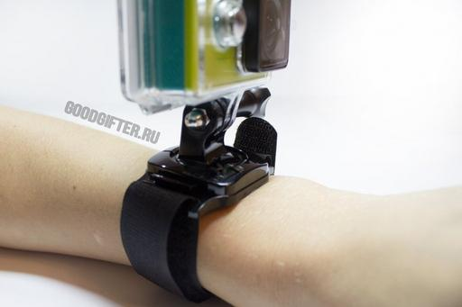 Крепление на руку Xiaomi Yi поворотное с фиксатором на 360 градусов