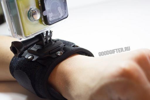 Улучшенное крепление на руку Xiaomi Yi с поворотной площадкой