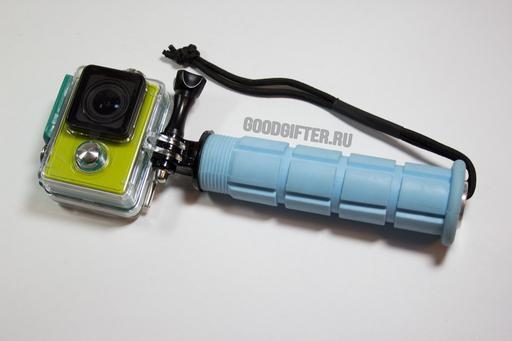 Утяжеленная прорезиненная ручка для камеры Xiaomi Yi