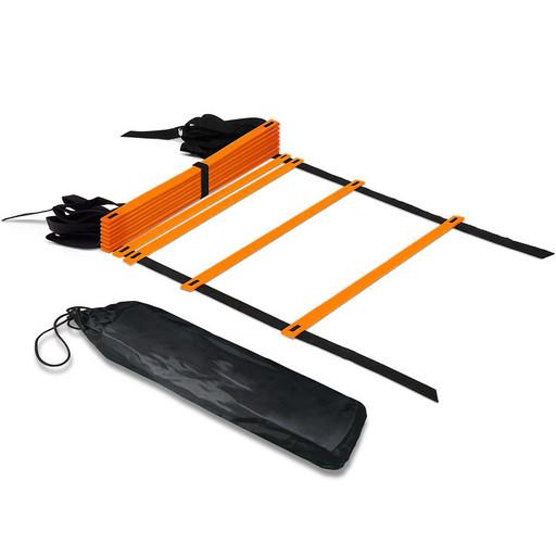 B31307-2 Лестница координационная 6 метров (оранжевая в чехле)
