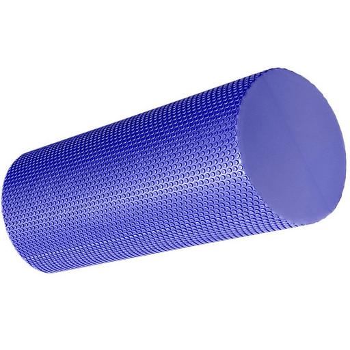B33083-3 Ролик для йоги полумягкий Профи 30x15cm (фиолетовый) (ЭВА)