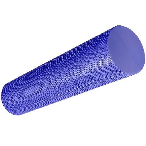 B33084-3 Ролик для йоги полумягкий Профи 45x15cm (фиолетовый) (ЭВА)