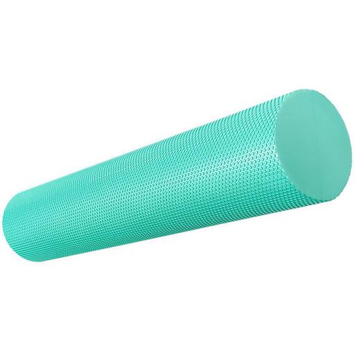 B33085-2 Ролик для йоги полумягкий Профи 60x15cm (зеленый) (ЭВА)