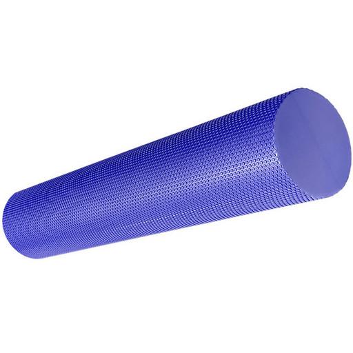 B33085-3 Ролик для йоги полумягкий Профи 60x15cm (фиолетовый) (ЭВА)