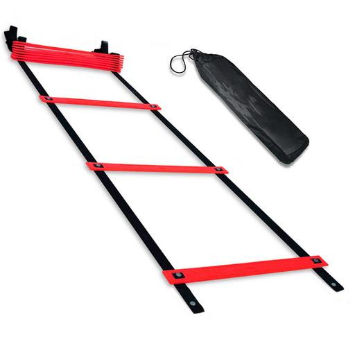 B31307-4 Лестница координационная 6 метров (красная в чехле)