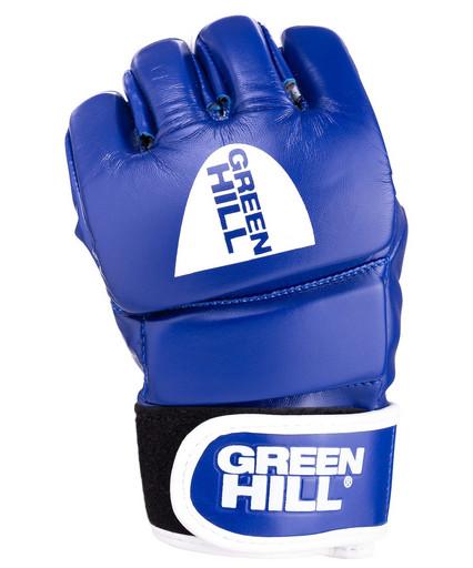 Перчатки для MMA Combat Sambo MMR-0027CS, к/з, синие