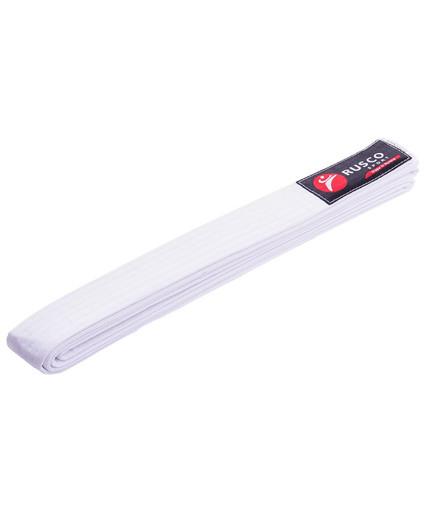 Пояс для единоборств, 260 см, белый
